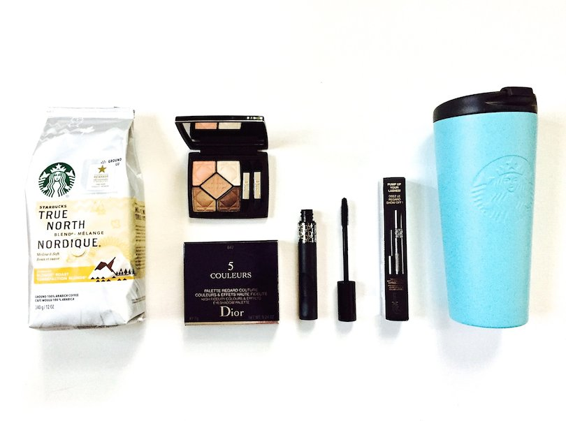 New #StarbucksAtHome + Dior Morning Commuter Essentials Giveaway! Win this set! To enter follow @davelackie & RT https://t.co/DMLzytJcGe