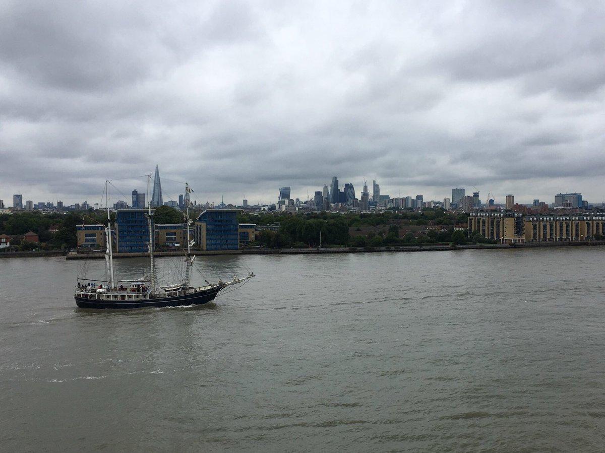 #Thalassa welcome to london <br>http://pic.twitter.com/Kk0xV22GGc