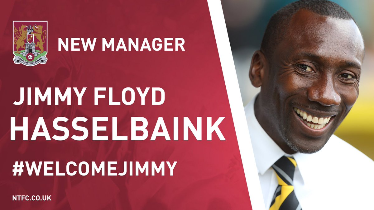 We are delighted to announce the appointment of Jimmy Floyd Hasselbaink as our new manager on a 3 year contract https://t.co/KrmVUiAhz6