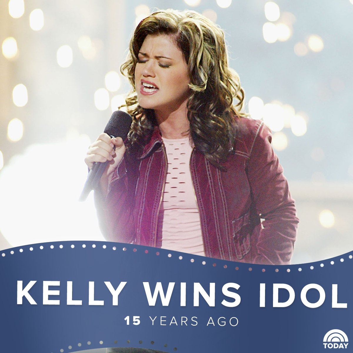 kelly_clarkson was crowned the first #AmericanIdol 15 years ago today .pic.twitter.com/Vhc7qntrMV