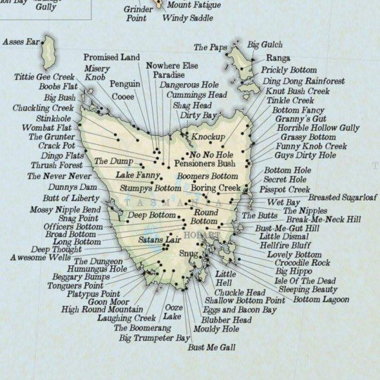 Toby Leonard Moore On Twitter Im From Tasmania Saw This Posted - Show-us-your-map-of-tassie