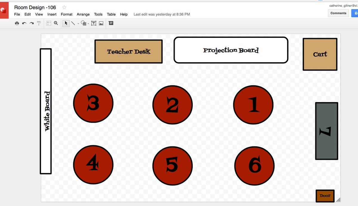Cathie Gillner On Twitter Seating Chart 1 Make A Template In