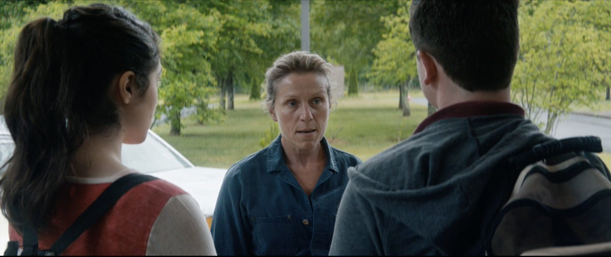 """""""Hey there. You know who threw that can?""""  THREE BILLBOARDS OUTSIDE EBBING, MISSOURI (2017)  #FrancesMcDormand"""