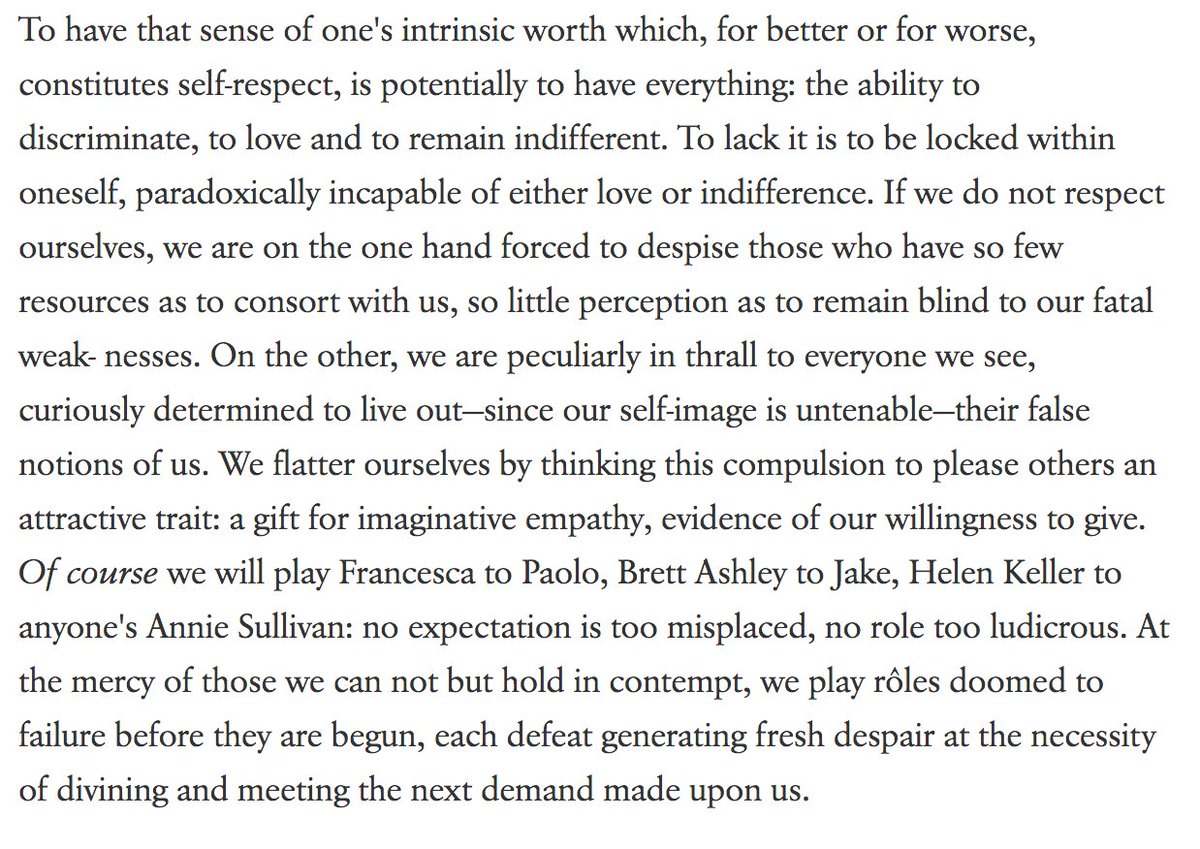 olivia lopez on twitter on self respect joan didion s essay
