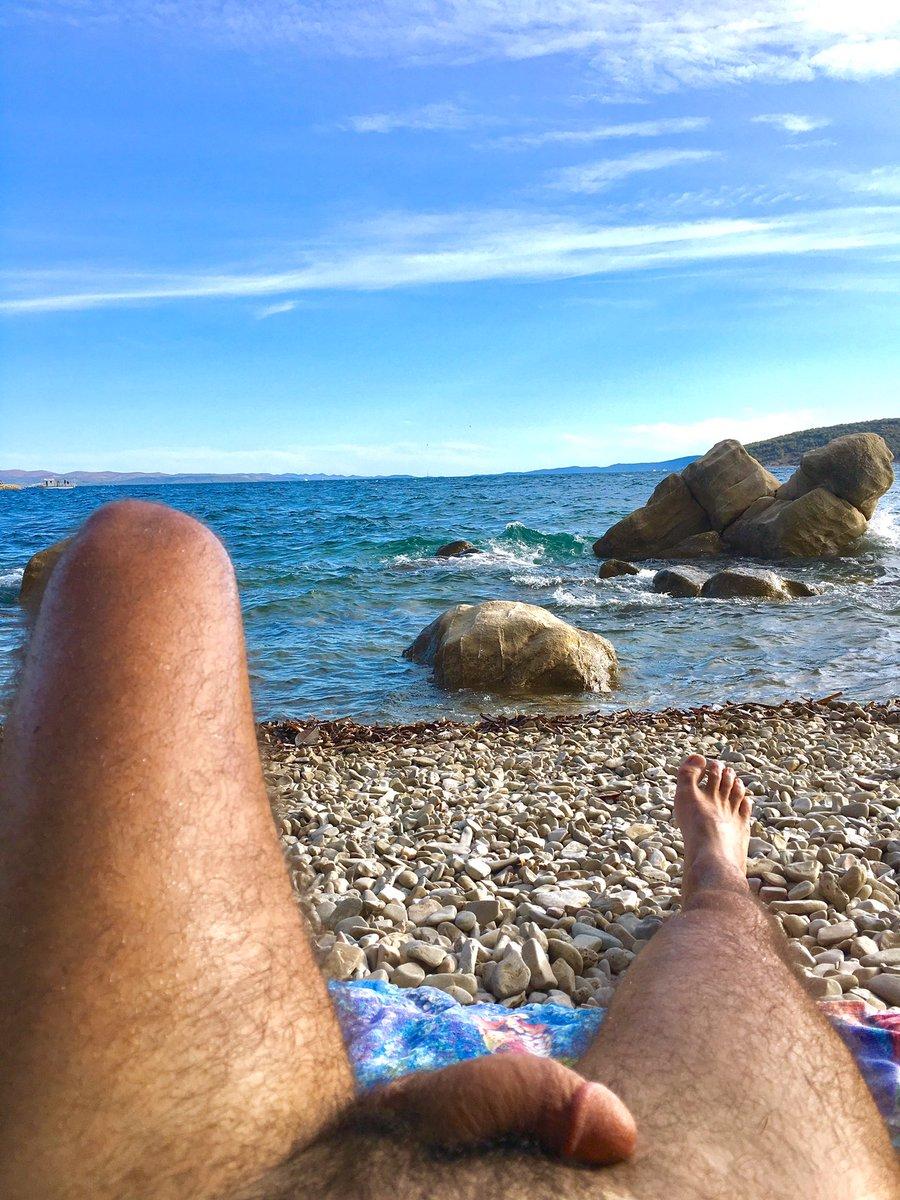 Nude beach twitter