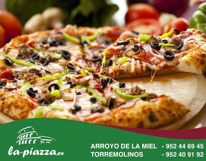 La Piazza On Twitter Si Piensas En Pizza Piensas En Lapiazza