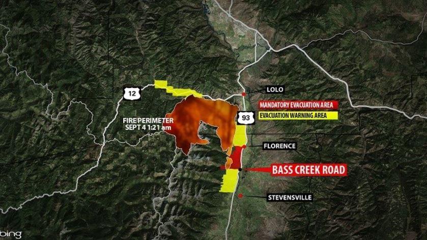 Ktvq Q2 News On Twitter Lolo Peak Fire At 45 000 Acres Https