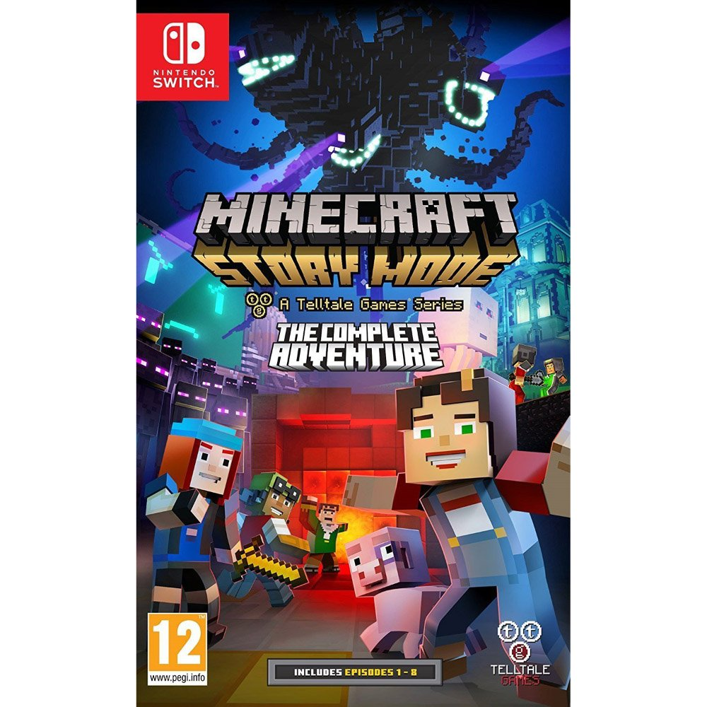 Pre-orders for #Minecraft Story Mode Season 2 + Nintendo