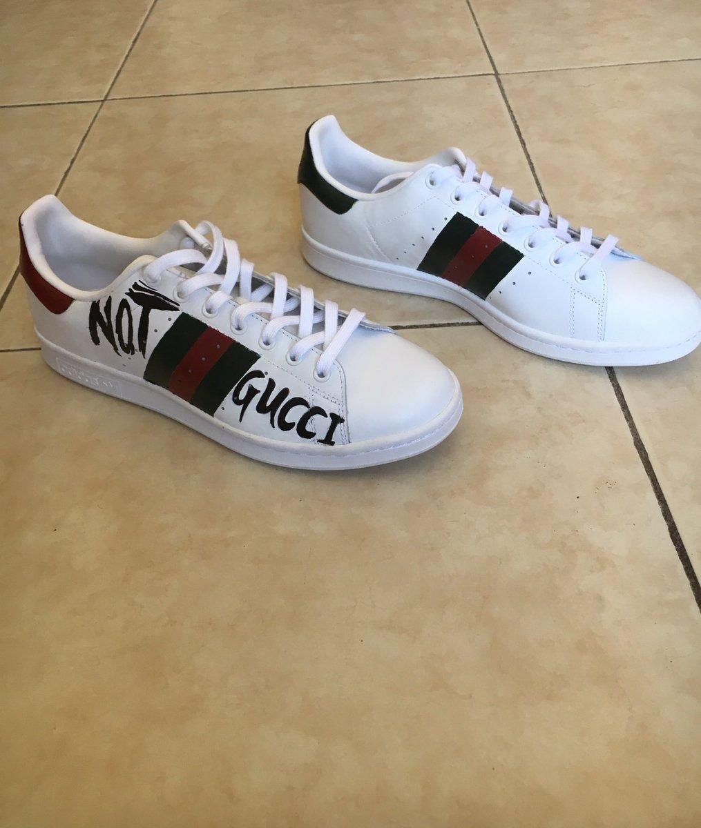 Adidas Stan Smith Not Gucci custom