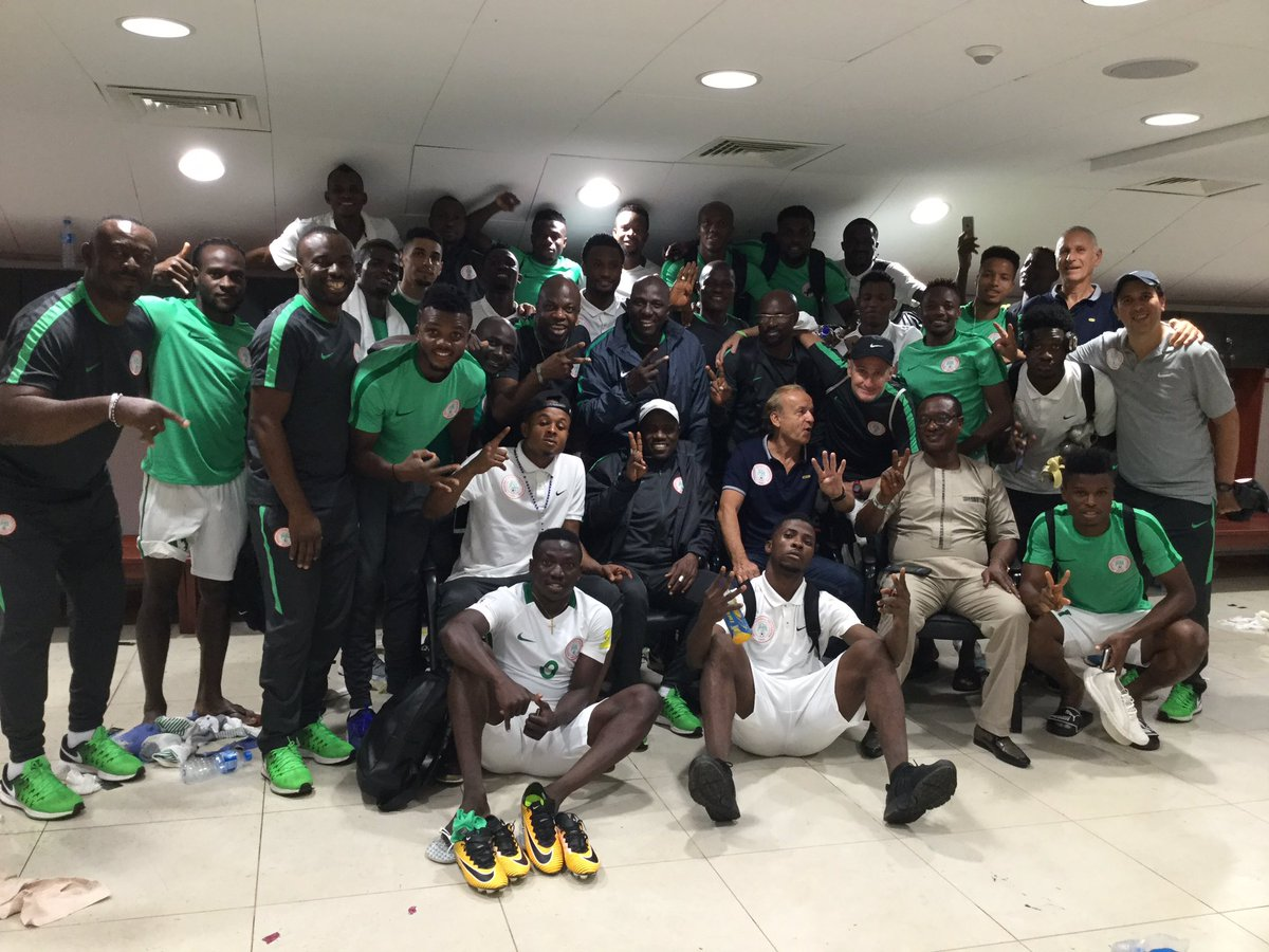 Saraki celebrated the performance of the Super Eagles after they thrashed Indomitable Lions of Cameroon in the Russia 2018 World Cup qualifiers.
