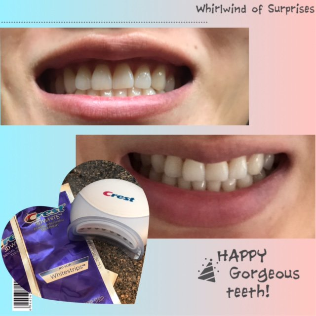 Easy to use whitening product for teeth