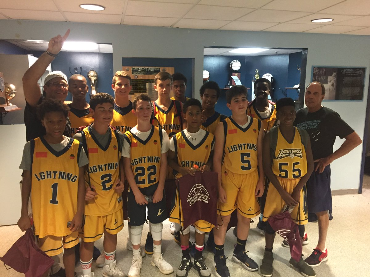 highlights on twitter lightning wagner adds another championship they won the island garden summer league jv division - Island Garden Basketball