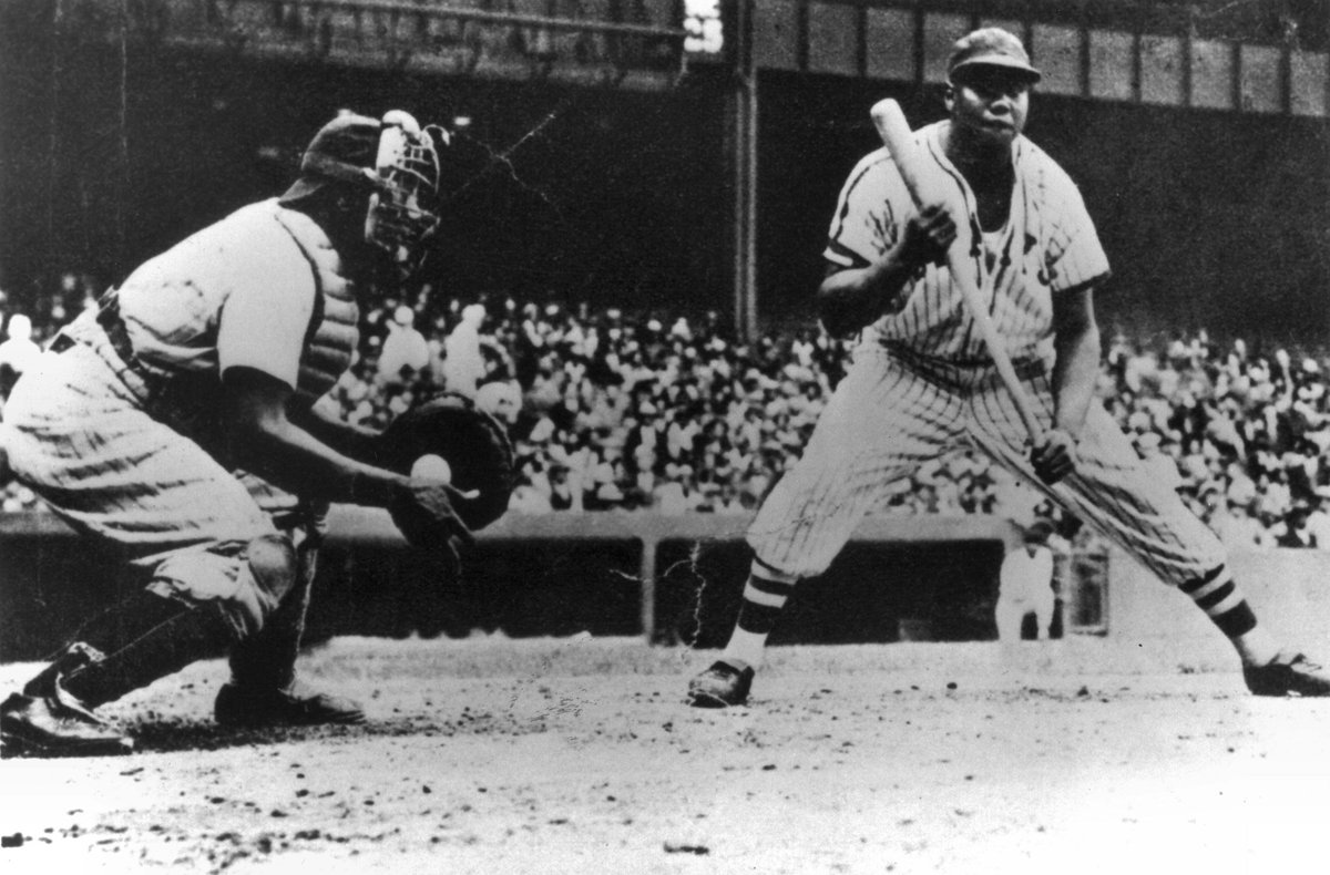 Negro League 40-Trading Cards Set Famous African-American Baseball League