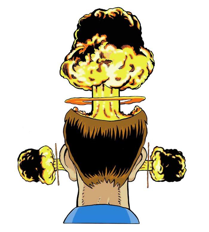 Картинка взрыв мозга шуточные