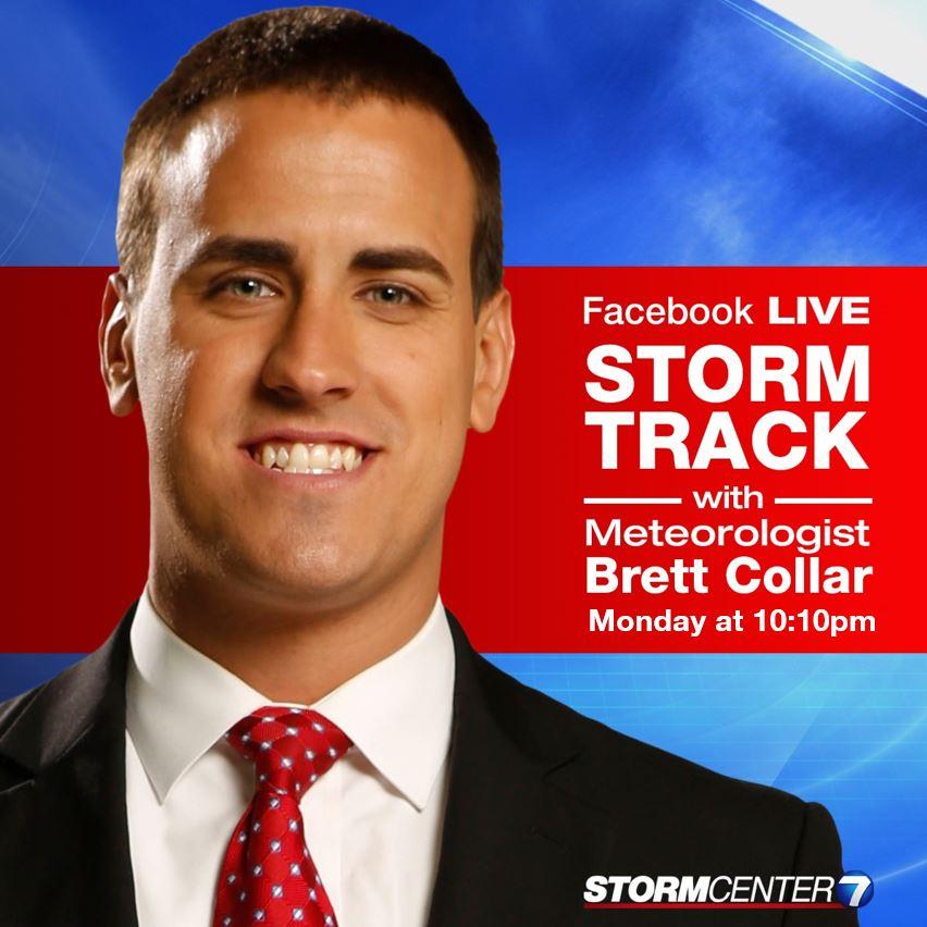 Meteorologist Brett Collar on Twitter: