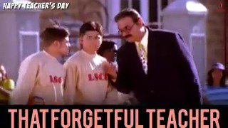 Nope, we haven't forgotten this teacher till date! 🙈 #HappyTeachersDay #ThatStudentThing @bomanirani https://t.co/KMJUUnU4wT