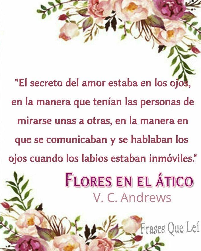 Frases On Twitter Amor Libro Flores En El ático