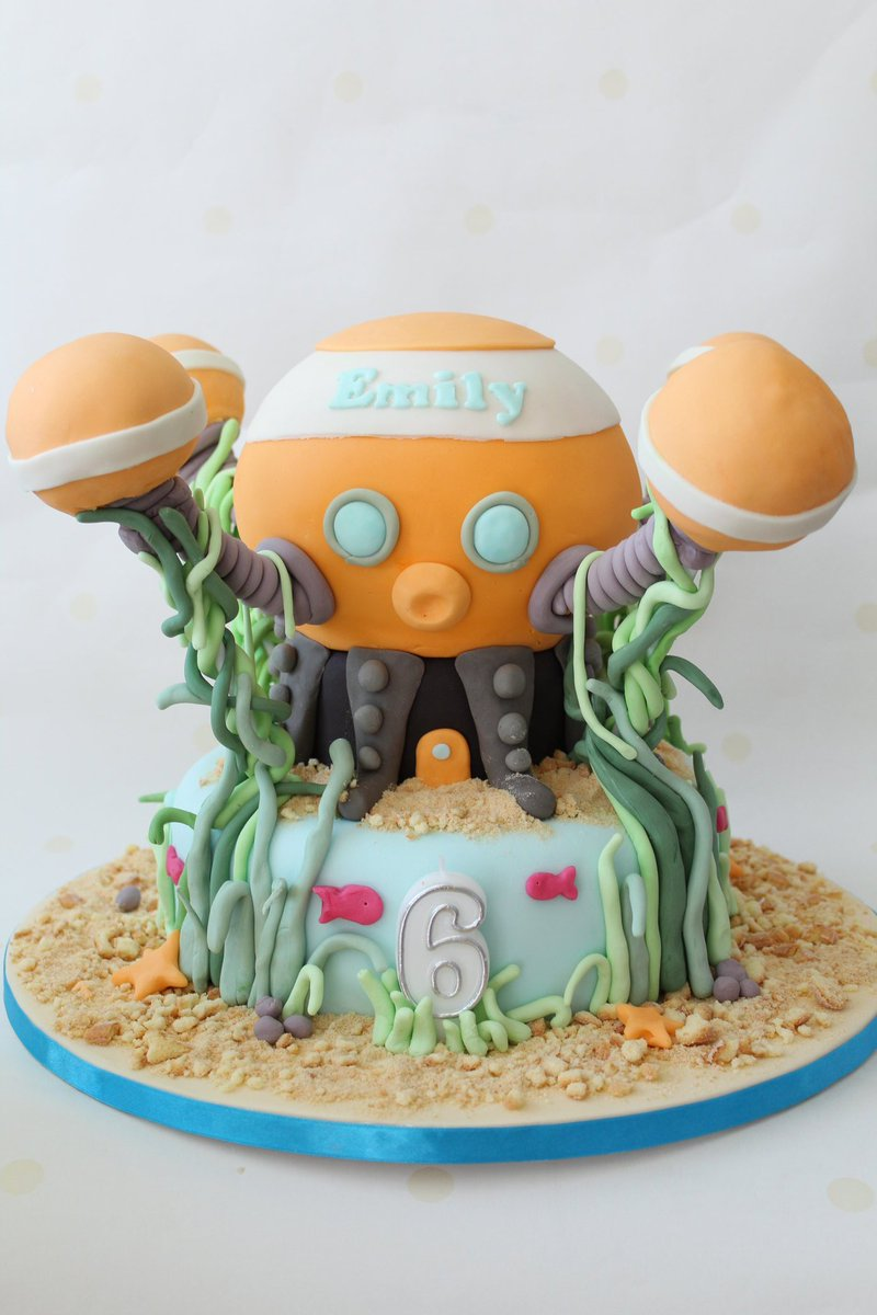 Fantastic Striped Apron Bakery On Twitter Very Cool Octonauts Birthday Personalised Birthday Cards Veneteletsinfo