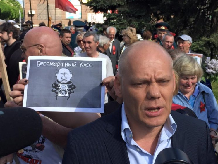У Запоріжжі СБУ обшукало домівку засновника «Полка перемоги» Андрія Іванова