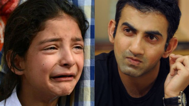 'I'll help u to live ur dream' Gautam Gambhir to bear education expenses of Zohra, daughter of martyred Kashmiri cop https://t.co/Ydz40T76bq