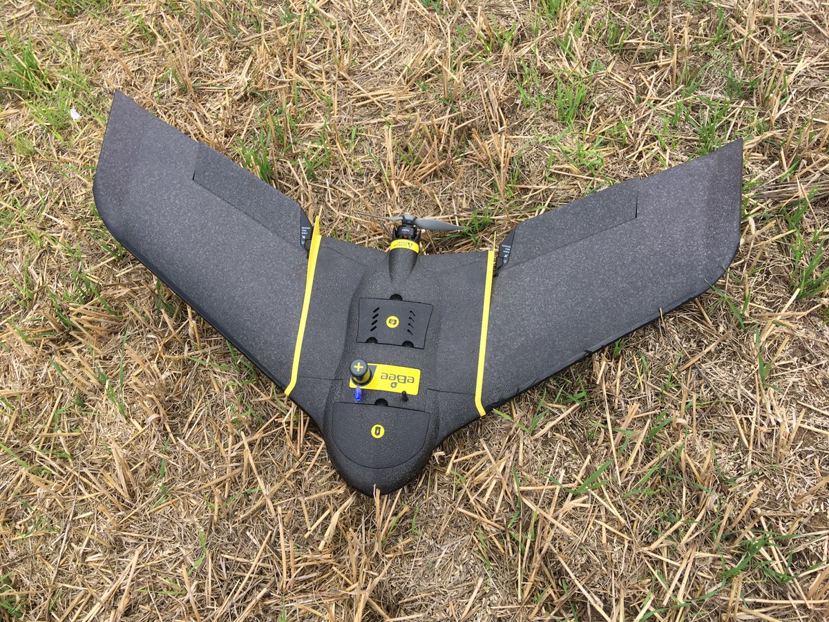 Another day another #survey with the #Sensefly #ebee plus. #surveying #Leica #geocurve #drones #UAS<br>http://pic.twitter.com/FymBX5lU8O