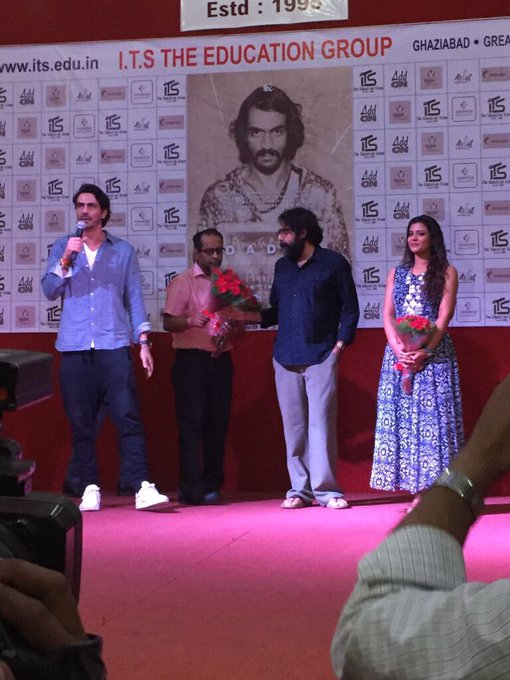 #Daddy promotions at Noida .. @rampalarjun @DaddyRealStory  sept 8th ... #excited https://t.co/iQIPUJNisn