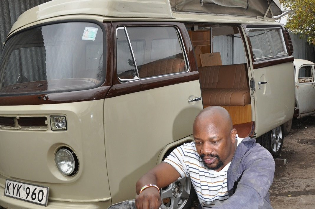 Radio personality @LarryAsego  has entered his 1974 Volkswagen Camper  this year's Concours d'Elegance. https://t.co/S1b5biiqsk