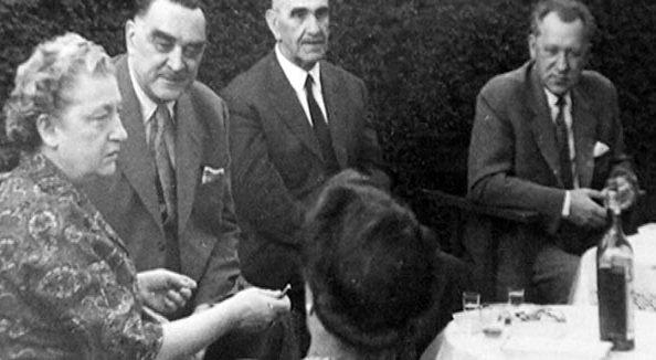 Stojadinović i Pavelić na druženju u Argentini 1954. godine