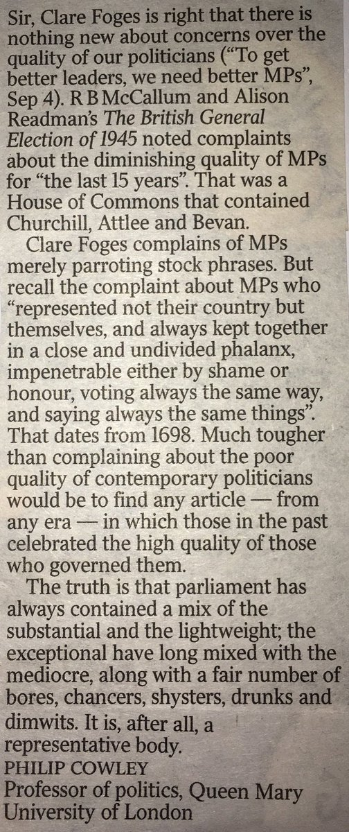 Letter in the Times, from me. https://t.co/quPkmkr1Ic