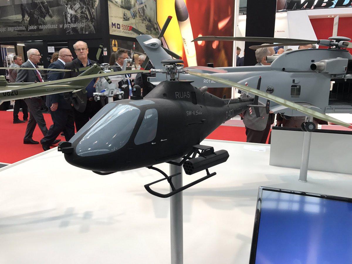 الطائرة المسيره AWHERO R-UAS من شركة Leonardo  DI9SCkJW0AEMgar