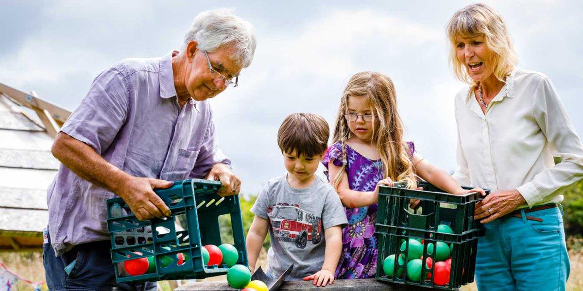 Grandparents looking after grandchildren