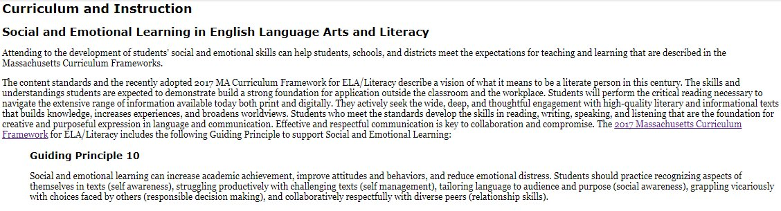 Matt Holloway On Twitter New Pages For Social Emotional Learning