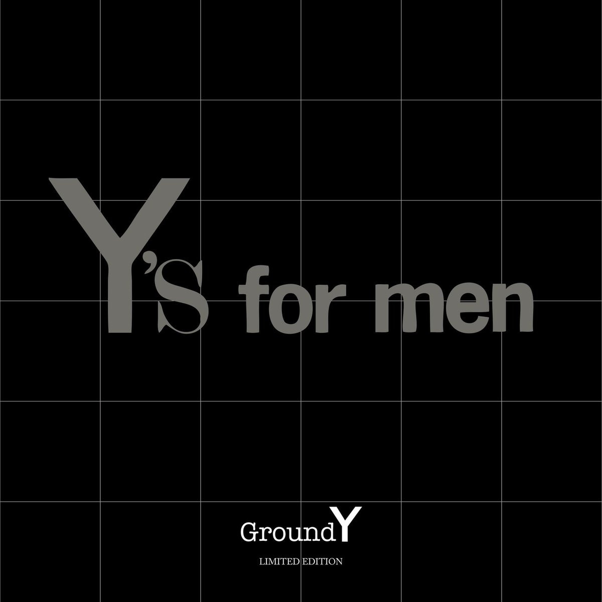 """Ground Y Official on Twitter: """"2017.9.9 Fri〜 release Y's for men Homage #groundy #yohjiyamamoto #グラウンドワイ https://t.co/71wsIqYq8h"""""""