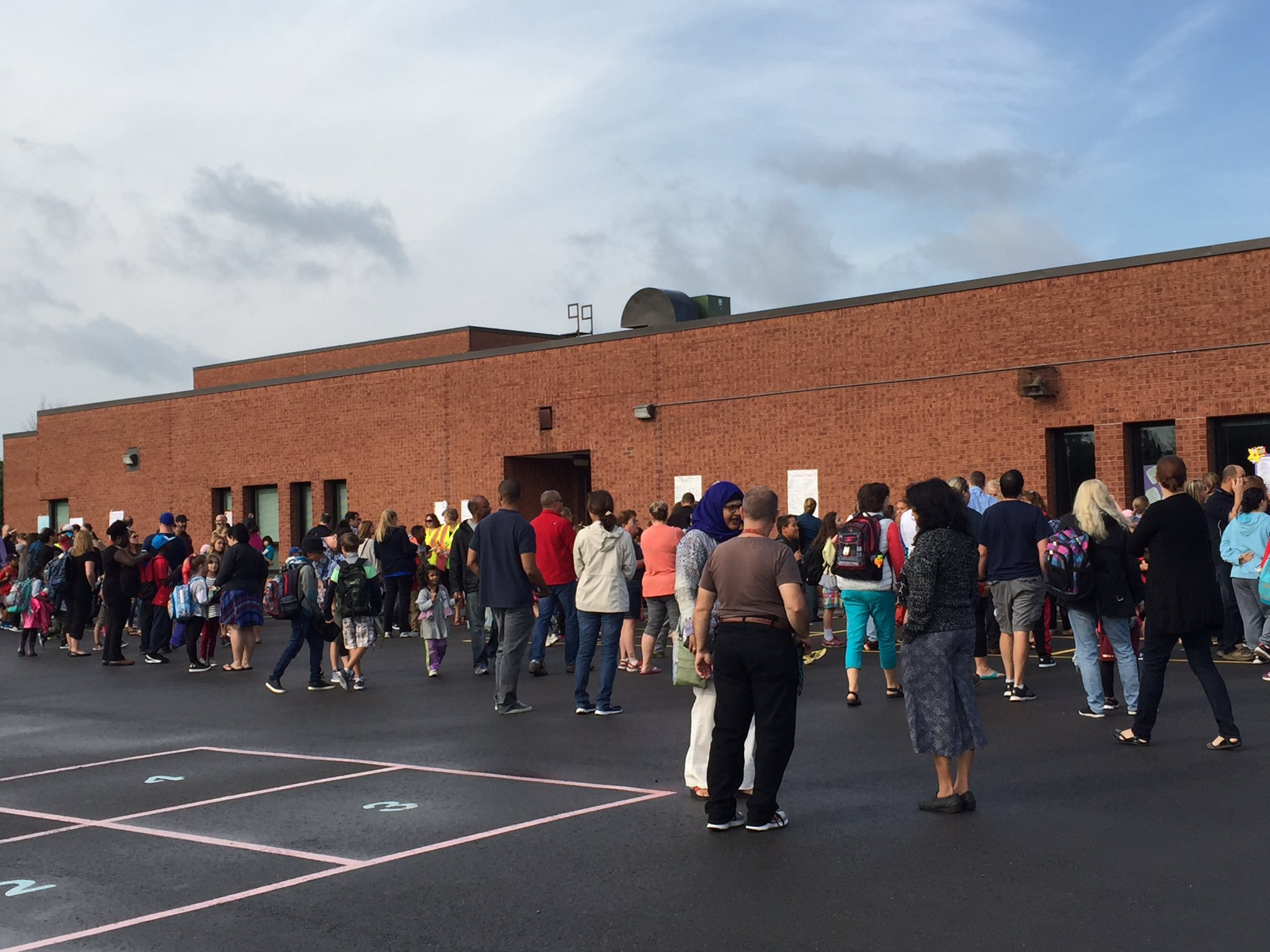 Lots of excitement in our school yard. Welcome back everyone!! #ocsbFirstday https://t.co/1jQexugYkH