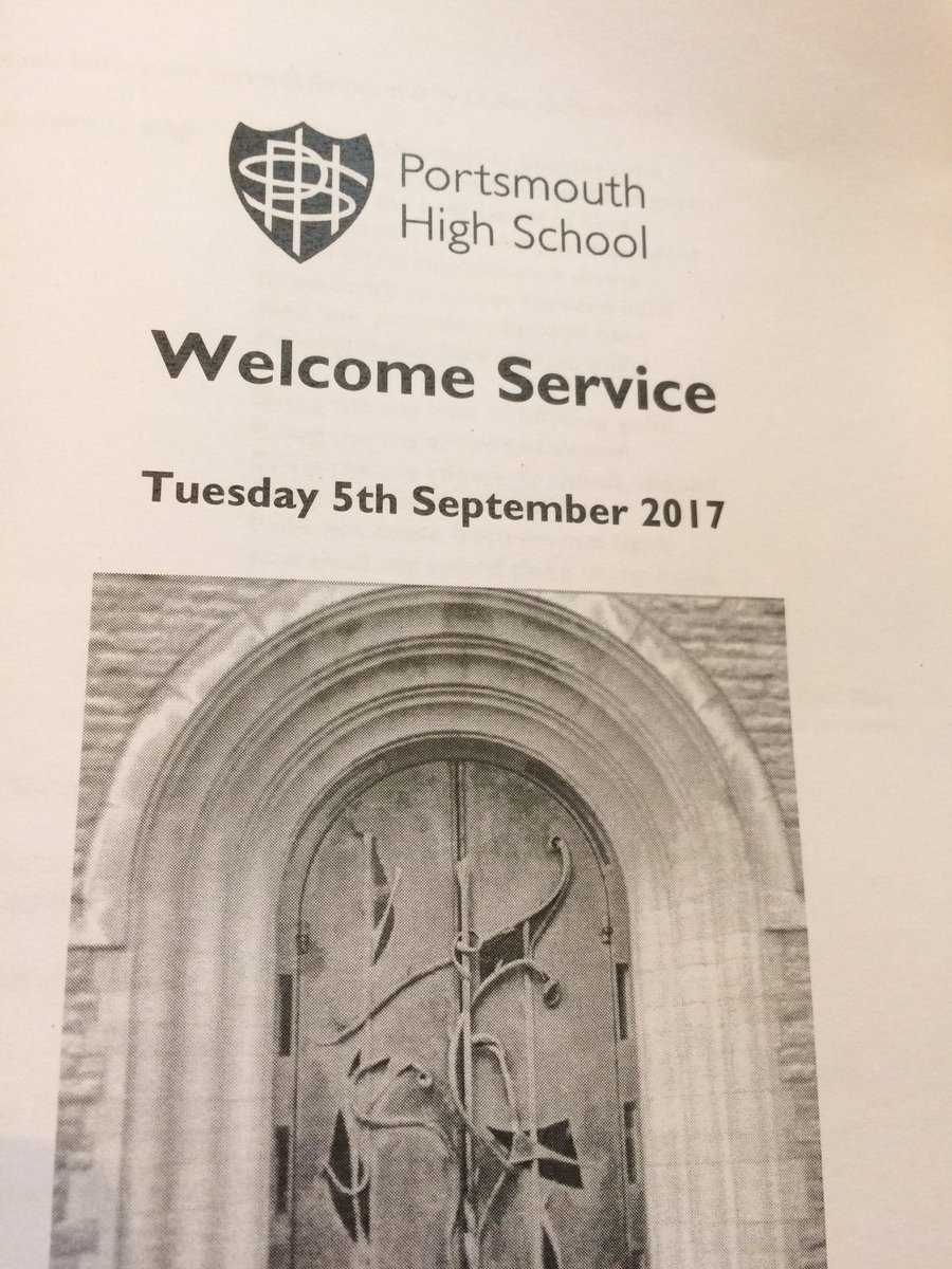 Service welcomes