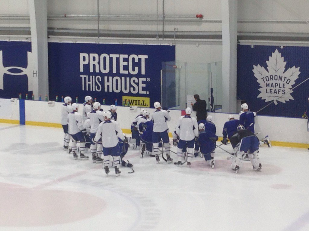 The Boys are Back In Town #Leafs https://t.co/hODcuCkCaO