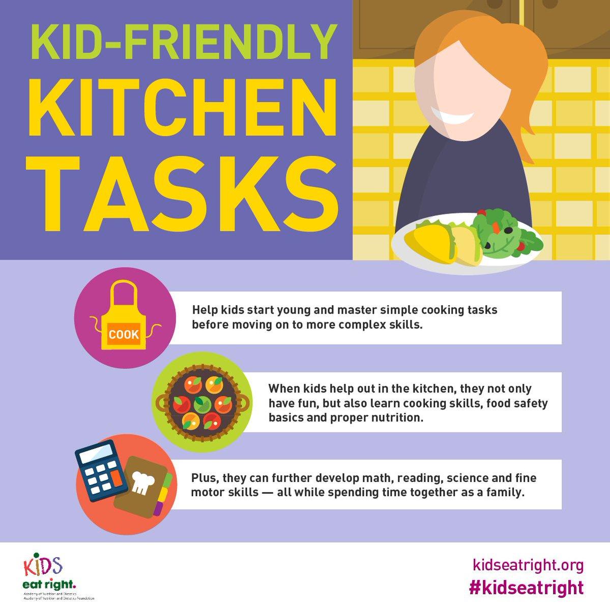 Kitchen Safety Poster For Kids – K3LH com: HSE Nusantara