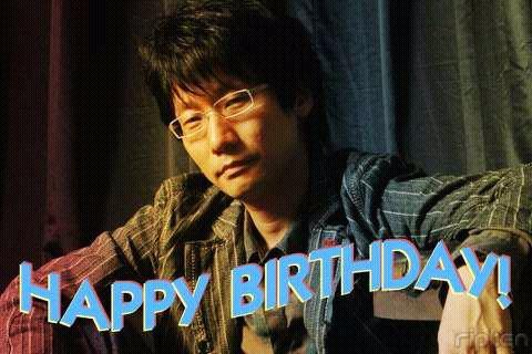 Happy Birthday, Mr. Kojima!!!