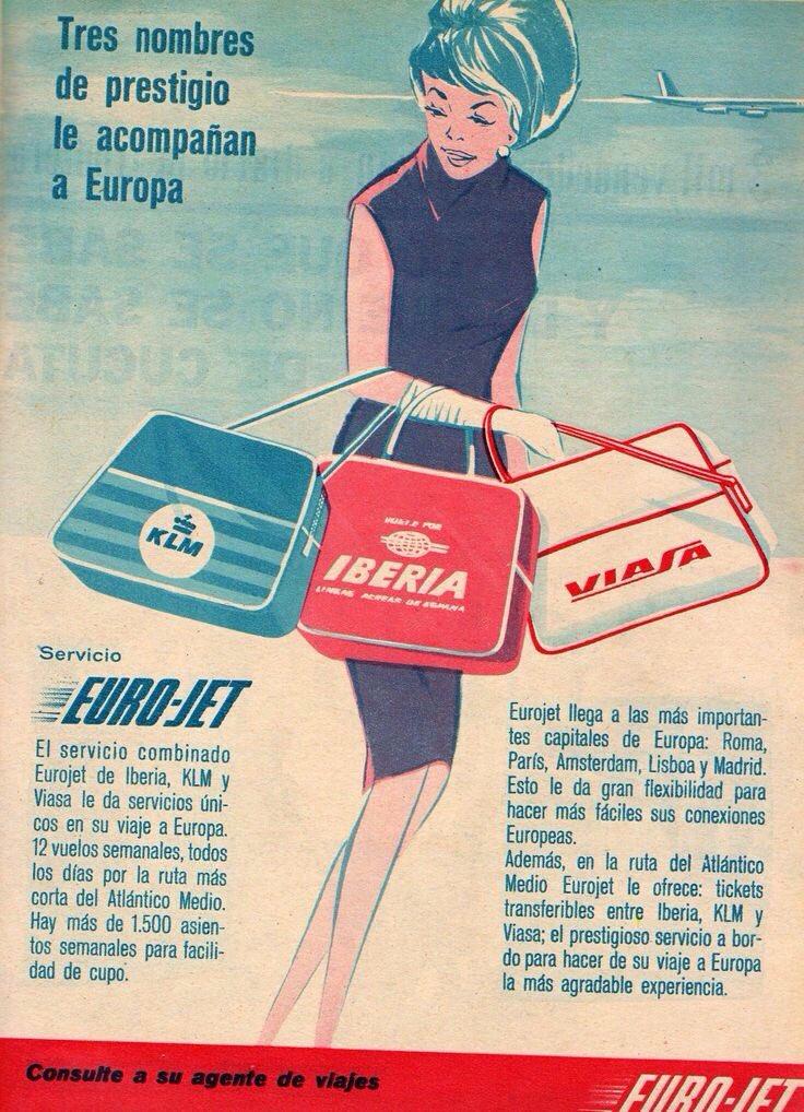 GFV on Twitter Servicio Eurojet KLM Iberia  Viasa Tres