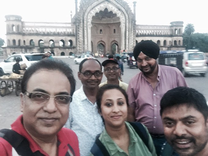 #Shabor recce on at #Lucknow. @SVFsocial https://t.co/7A29sRRt6z