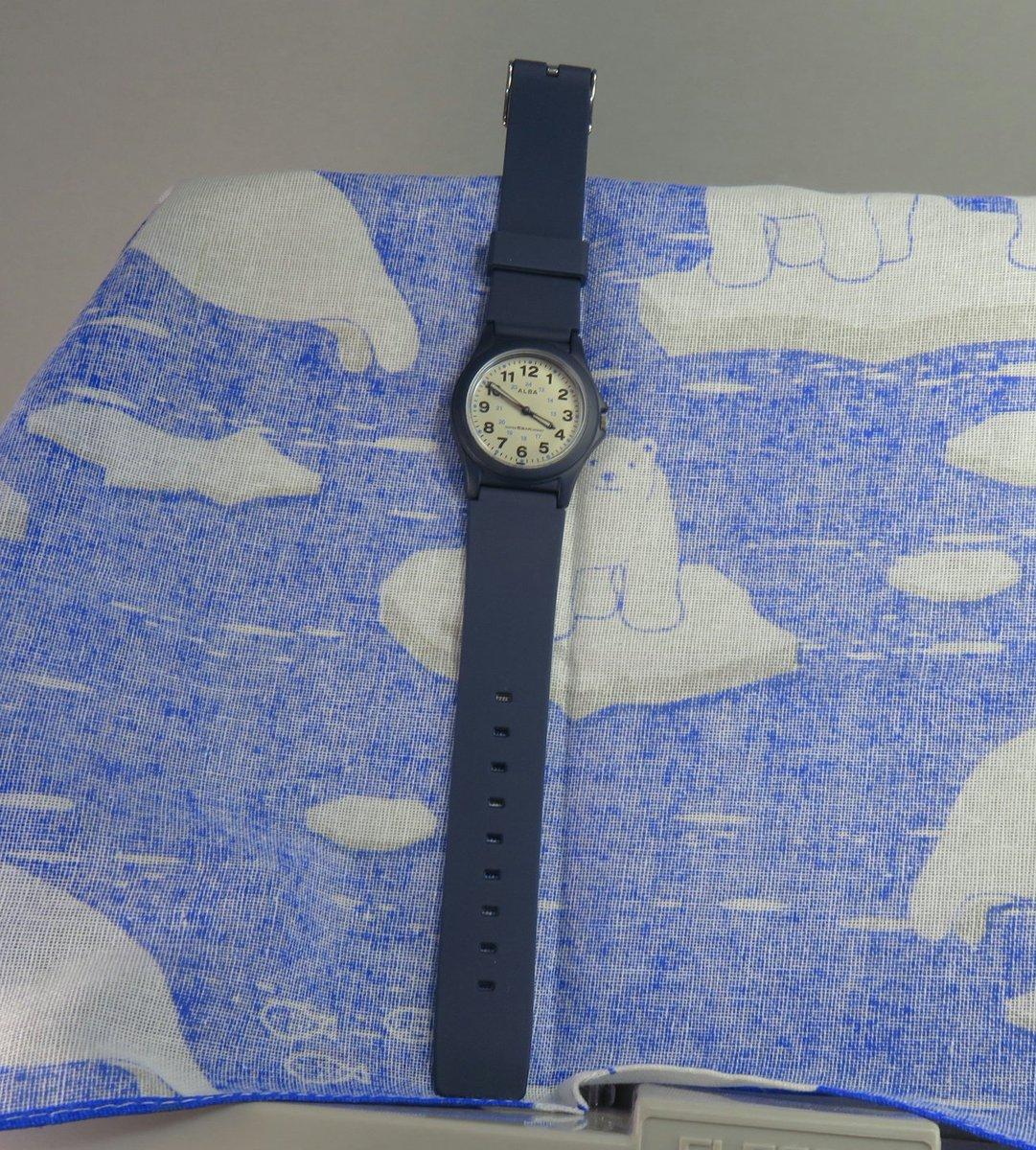 e7475af50a 腕時計セイコー アルバのベルトをいわゆるチープカシオやチープシチズンのものに入れ替えました。一応男女共用。
