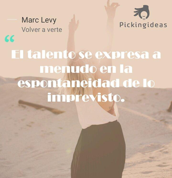 Twitter पर Pickingideas Mi Idea Para Hoy By Marc Levy