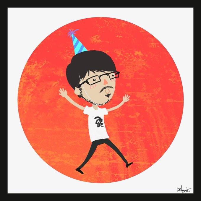 Quick lil doodle - happy birthday!!