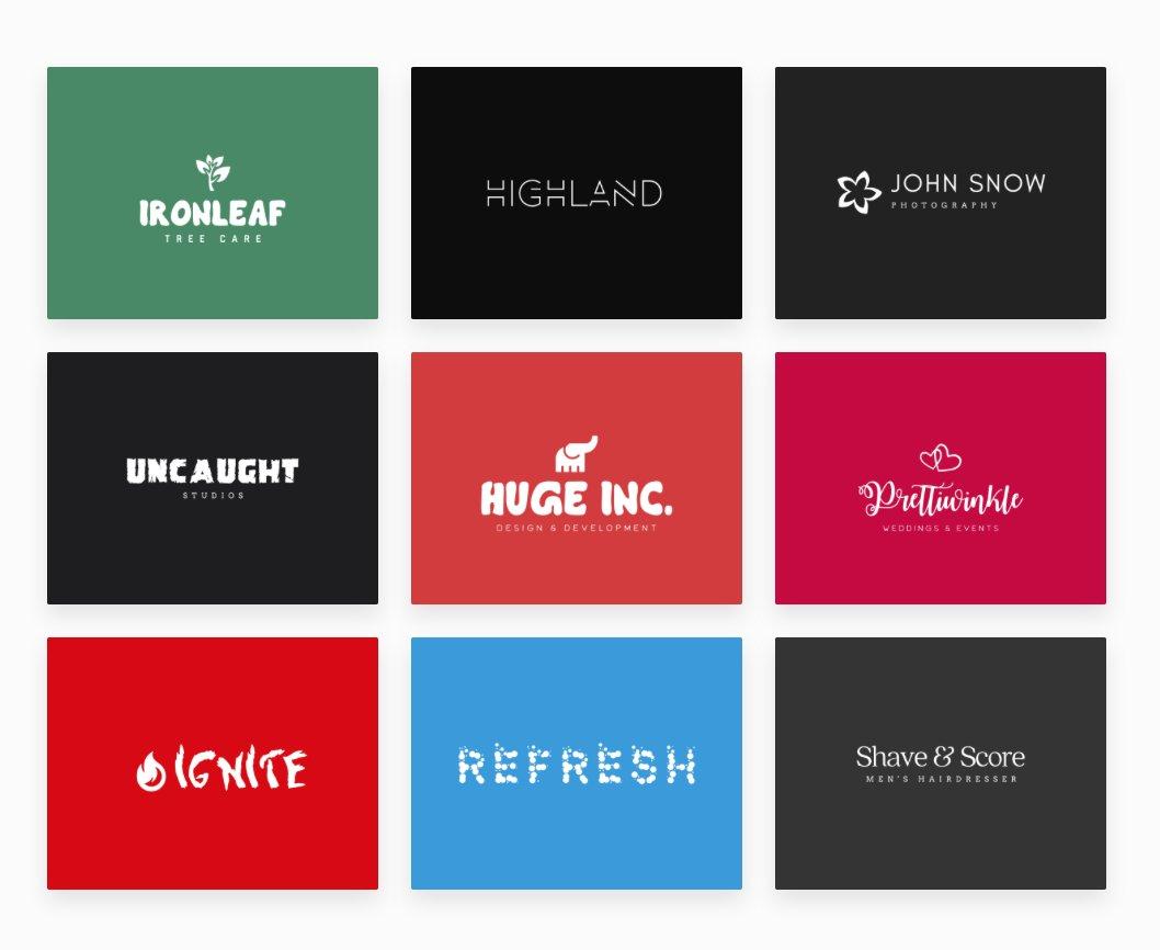 The top 10 logo generation websites of 2017