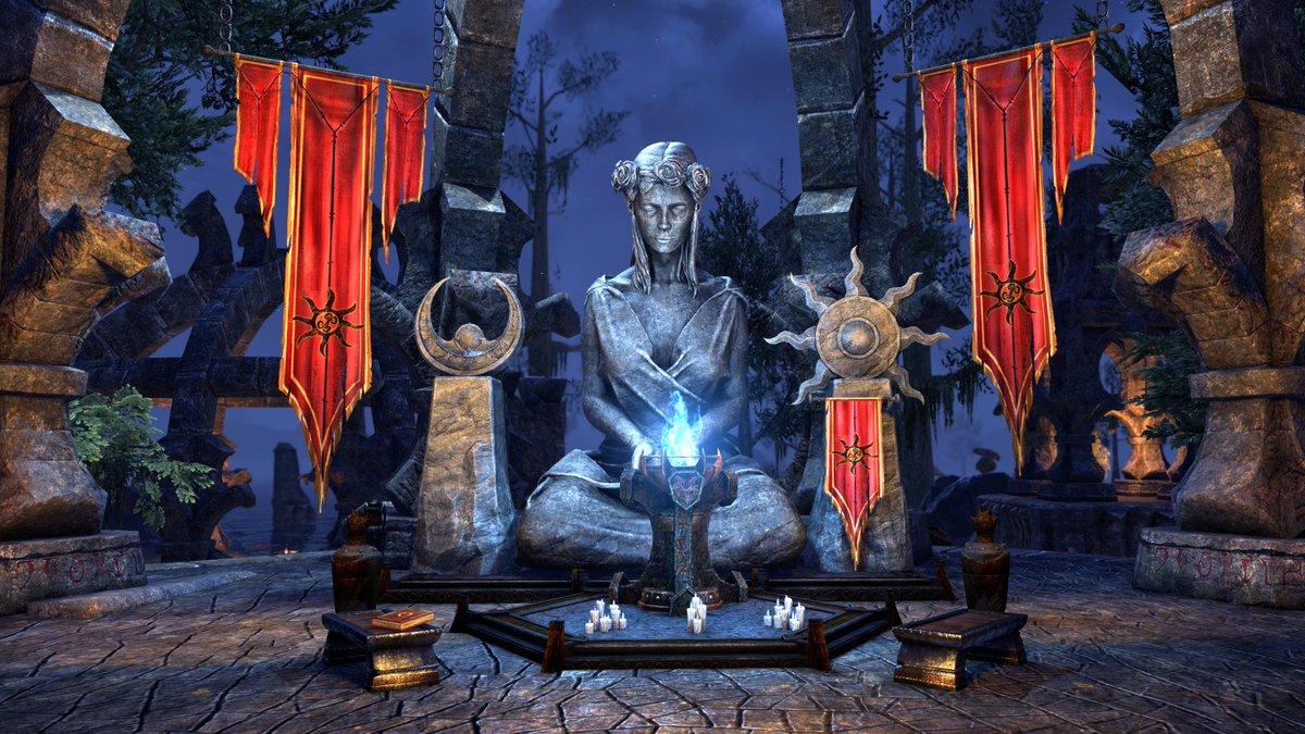 elder scrolls online on twitter build a shrine worthy of