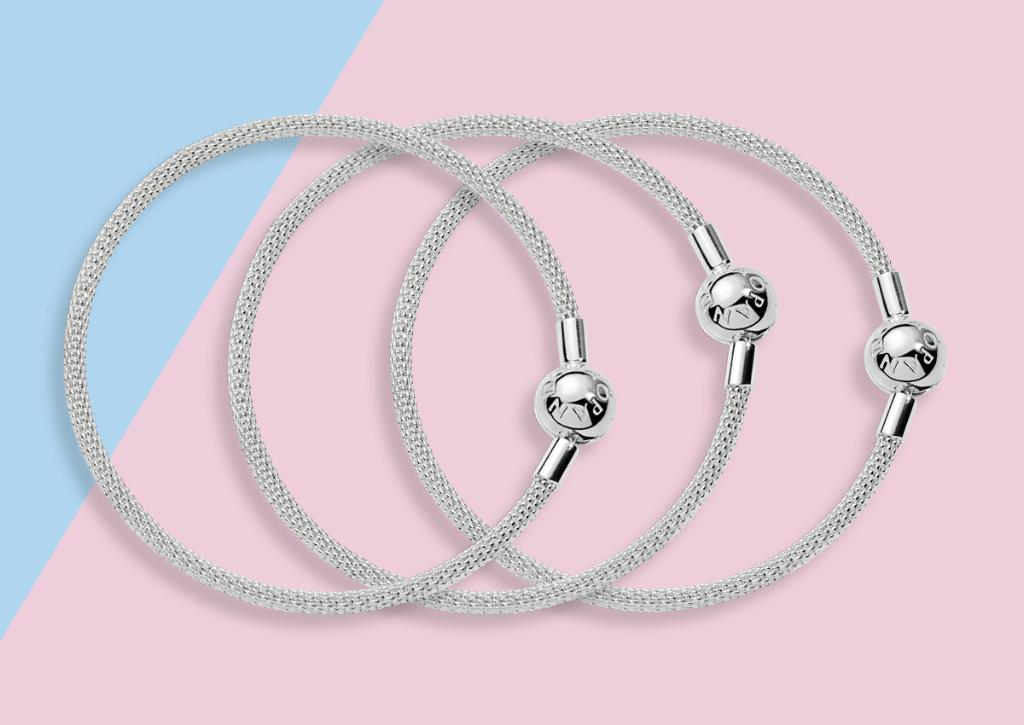 4ffb5036f #PANDORALoves the brand new Moments Mesh Bracelet, woven with delicate  sterling silver http://po.st/BXZG1C pic.twitter.com/O4eNGL0AxN