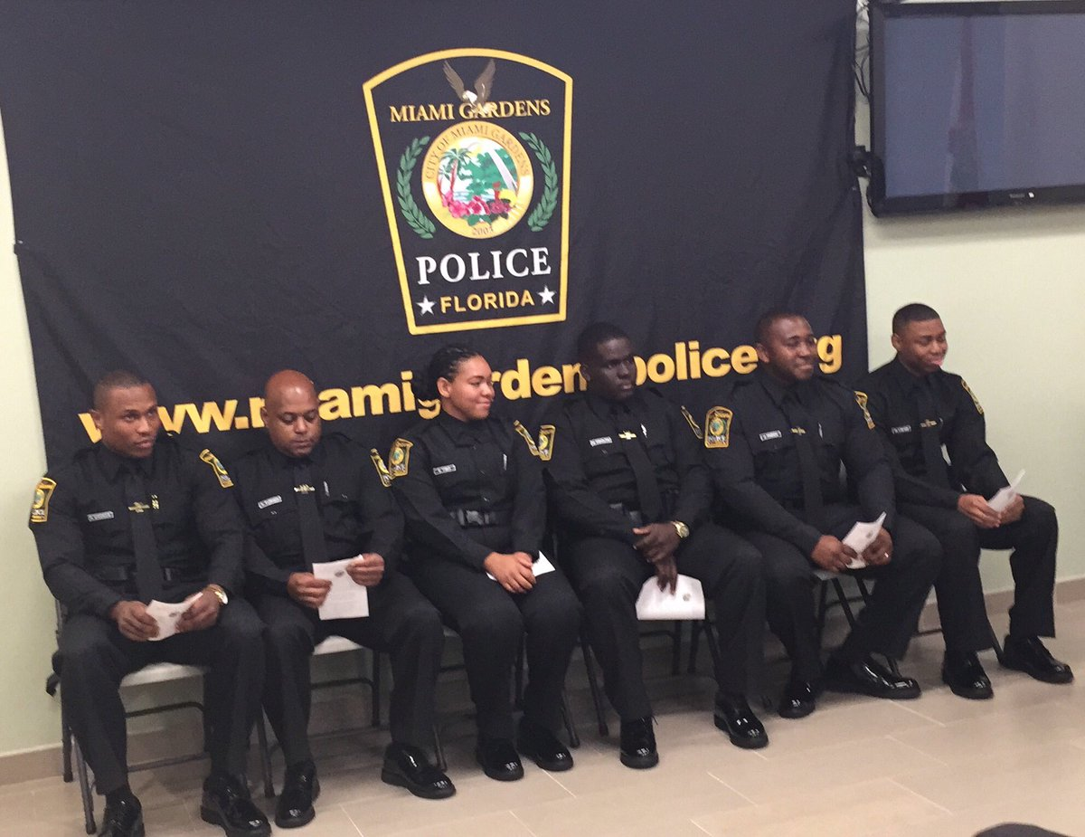 Mgpd On Twitter Congratulations To The Newest Member Of The Miami Gardens Police Department