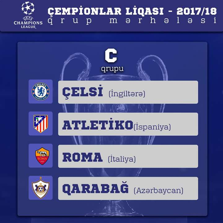 """""""Qarabağ"""" """"Roma"""" ilə oyunun biletlərini bu gün satışa çıxarır - <font color=#ff0000>QİYMƏTLƏR</font></strong>"""