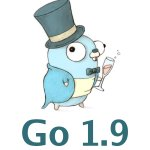 Image for the Tweet beginning: Go 1.9 has been released!    Get