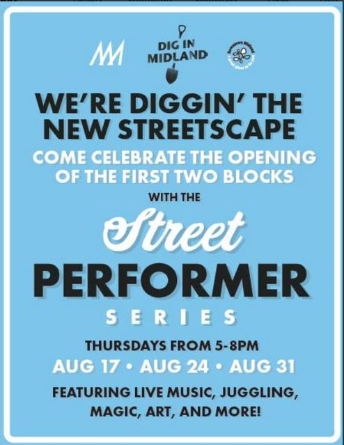 City Of Midland Mi On Twitter Join Us Downtown Tonight For The Street Performer Series And Cone W A Cop At Pizzasamsmid It S Going To Be A Great Night In Mymidland Https T Co Lixotix1z9 Miss dig 811 is a free safety notification system in michigan that safeguards utility facilities before excavation projects begin. twitter